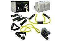 Спортивный набор Profi Ms 1542 из четырех предметов тренажер универсальный эспандер для рук и ног