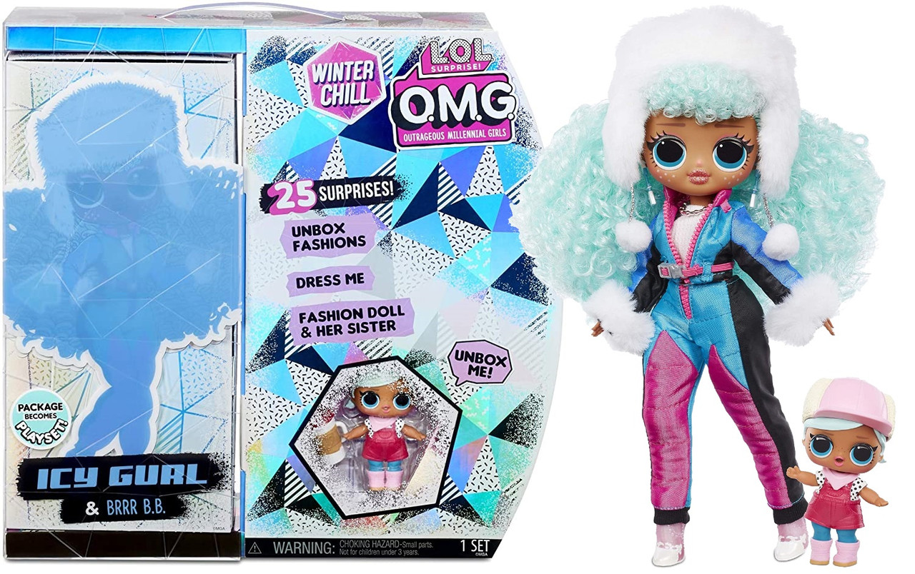 Кукла ЛОЛ Сюрприз ОМГ L.O.L. Surprise OMG Winter Chill ICY Gurl 570240