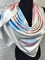 Роскошный молочный брендовый платок