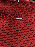 Накидки LUX на передние сидения ( бордовый ромб ), фото 2