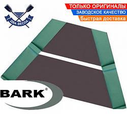 Слань коврик Барк носовой реечный настил для лодки ПВХ Bark из 2-х сланей со съемными карманами