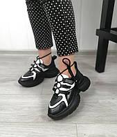 Комбинированные молодежные кроссовки от производителя, фото 1