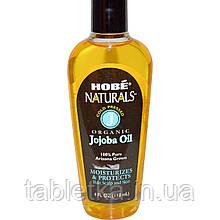 Hobe Labs, Naturals, органическое масло жожоба, 118 мл (4 жидких унции)