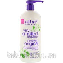 Alba Botanica, Very Emollient, смягчающий лосьон для тела, без запаха, оригинальный, 907г (32унции)