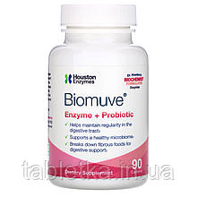 Houston Enzymes, Biomuve, Enzyme + Probiotic, 90 Capsules