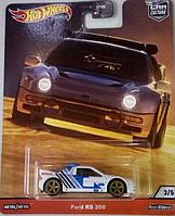 Машинка коллекционная Hot Wheels Ford RS 200