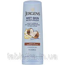 Jergens, Увлажняющее средство Wet Skin Moisturizer для нанесения на влажную кожу, с кокосовым маслом, 295мл