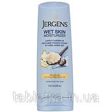 Jergens, Увлажняющее средство Wet Skin Moisturizer для нанесения на влажную кожу, с маслом ши, 295мл