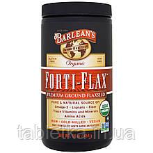 Barlean's, Органический Forti-Flax, молотое льняное семя высшего качества, 16 унций (454 г)