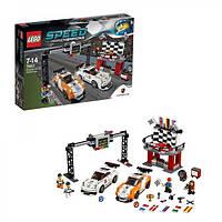 Конструктор LEGO Speed Champions 75912 Финишная линия гонки