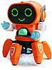 Танцюючий інтерактивний робот з музикою і вогнями
