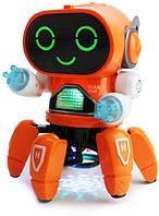 Танцюючий інтерактивний робот з музикою і вогнями, фото 1