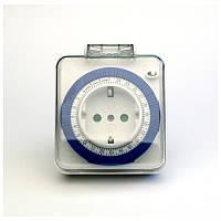 Розетка с таймером (суточная) TM31/61924 3500W/16A IP44, фото 1