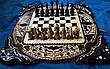 """Шахи-нарди-шашки комплект 3 в 1 """" Скорпіон """", фото 2"""