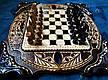 """Шахи-нарди-шашки комплект 3 в 1 """" Скорпіон """", фото 5"""