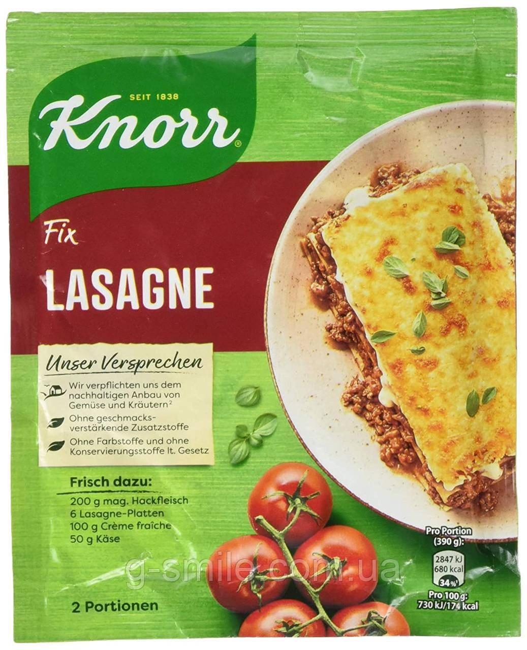 Приправа для приготовления лазаньи Knorr Fix,  52 г