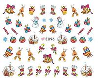 Слайдер для дизайна ногтей E-896, фото 1