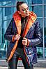 Молодіжна ДВОСТОРОННЯ куртка з капюшоном S, M, L, XL розмір, фото 6