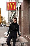 Мужской зимний теплый спортивный костюм Adidas на флисе - DONE, фото 3