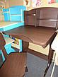 Регулируемая детская парта растишка со стульчиком Финекс+ HB-2071-04-14 (Венга), фото 4