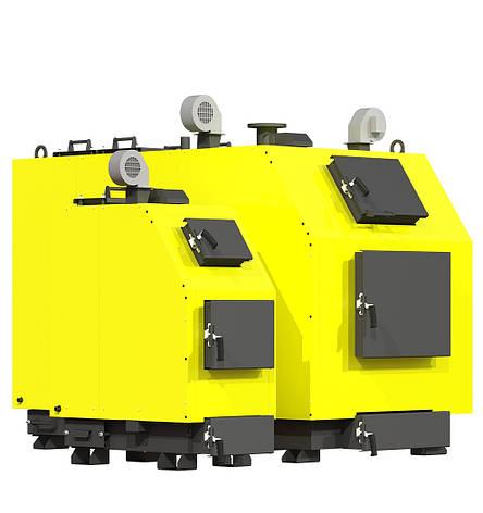 Промышленный твердотопливный котел Kronas PROM 150 кВт, фото 2