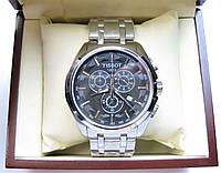 Часы TISSOT Couturier Chronograph 42 mm Silver/Black Replica: ААА., фото 1