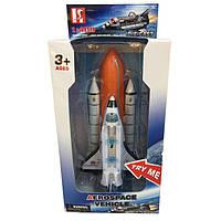 Літак на батарейках ЩП, 38 см, звук, світиться, фігурка, в коробці 40 х34х15,5 см (6) КІ №LQ2019