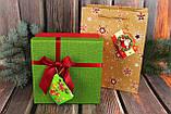 №3 Мини открытка  для подписи подарков с глиттером  МИКС расцветок70*50 мм (240 шт в упаковке), фото 2