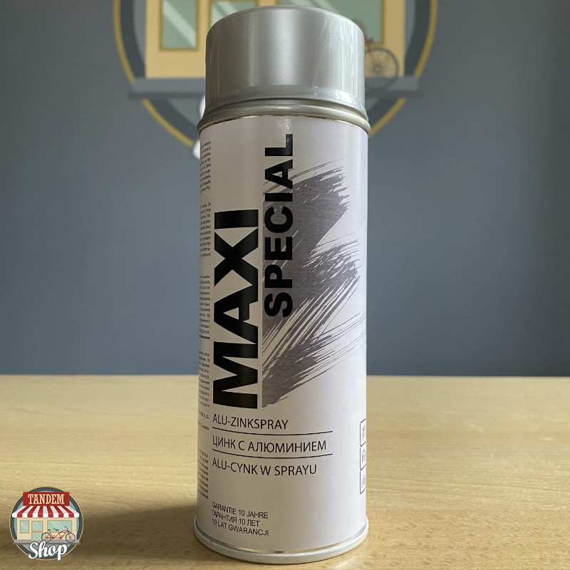 Грунт цинково-алюминиевый Maxi Special, 400 мл Аэрозоль