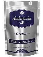 Растворимый кофе Ambassador Crema 200 гр АКЦИЯ 10+1