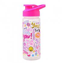 "Пляшка для води 500 мл YES ""Be yourself"" 706910"