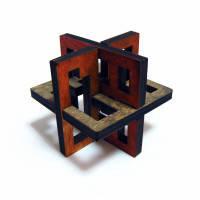 Головоломка деревянная Lattice 3