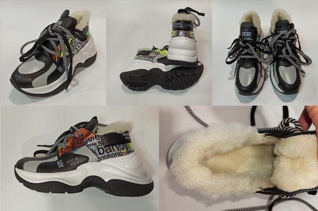 Зимние кроссовки женские, Eclipse фото