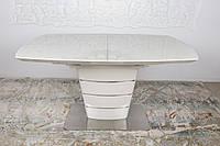 Стол обеденный ATLANTA 1,4м, кремовый