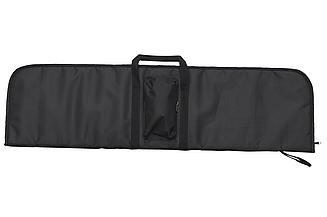 Чехол 110см для помпового ружья/ с уплотнителем, прямоугольный 110х25см, с карманом, чёрный