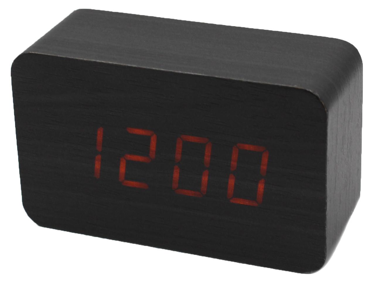 Часы-Будильник VST-863-1-Orang с температурой и подсветкой