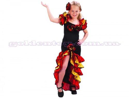 Карнавальный костюм Румба девочка, S/M/L