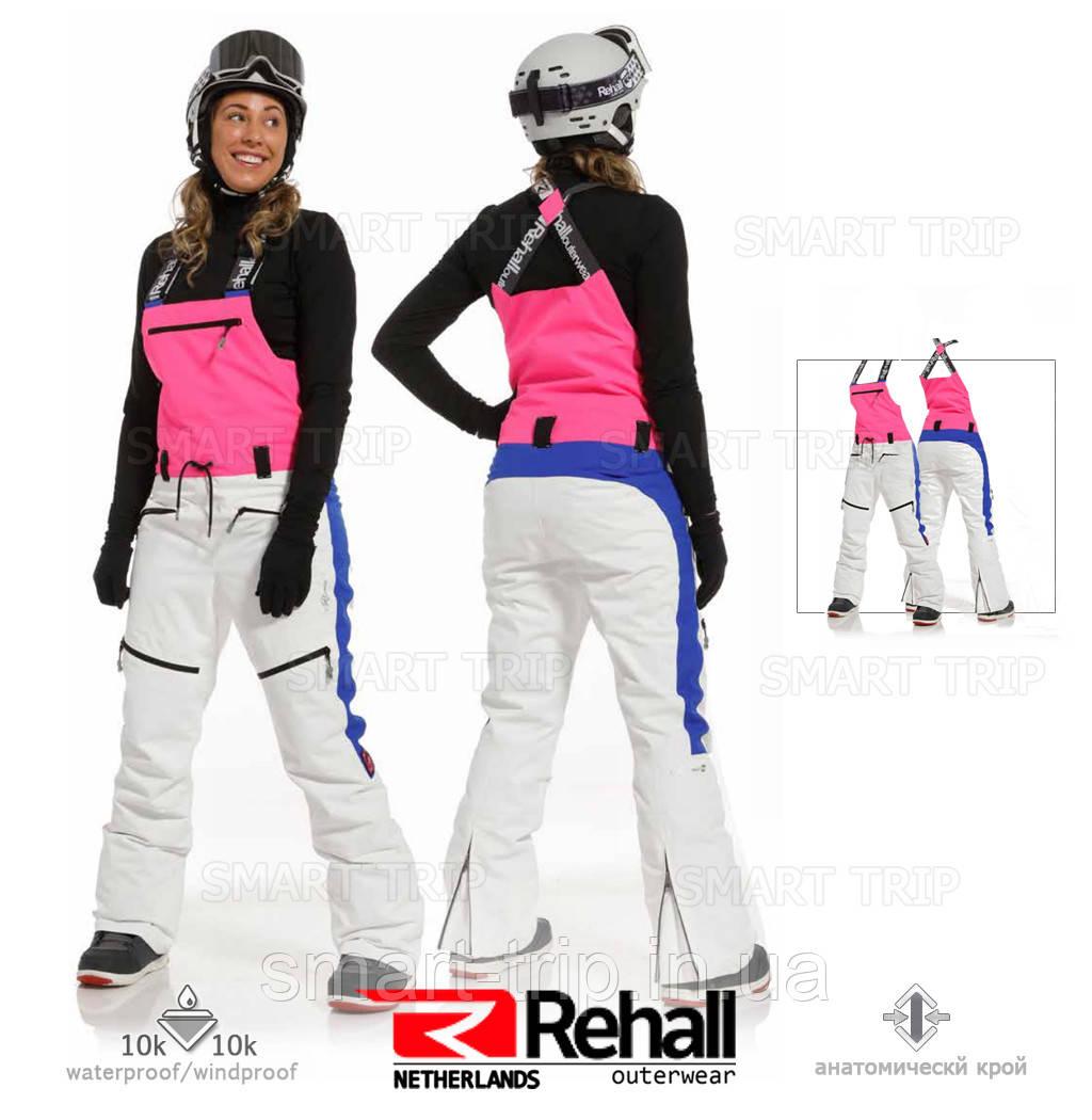 Горнолыжные штаны REHALL KATY-R женские 2021 S белый (60083-S)
