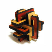 Головоломка деревянная Тиара, фото 1