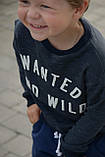 Реглан детский трикотажный на мальчика (92-116) тринитка,, фото 3