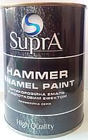 Эмаль HAMMERITE ENAMEL PAINT с молотковым эффектом серебристая 0,8кг.