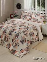 Стильный комплект постельного белья Le Vele поликоттон евроразмер