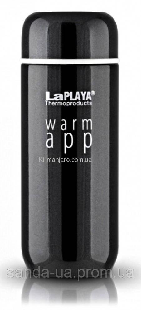 """Термочашка """"Warm App"""" чёрная 0,2 л"""
