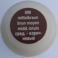 """Жидкая коричневая крем краска для гладкой кожи """"Soft Liquid Cream"""" SALAMANDER 75 мл c с воском, фото 1"""
