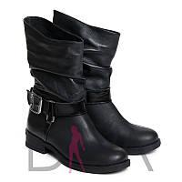 Женские зимние ботинки натуральный мех 7011z