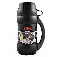 Термос 34 Premier 0,75 л синий, чёрный