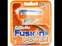 Сменные кассеты для бритья Gillette Fusion Power 2шт. в упаковке