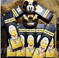 Золотая маска-плёнка с биозолотом и коллагеном для лица Dexe Gold Mask