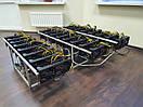 400 Mh/s Майнінг ферма на відеокарти Sapphire Rx Vega 56 8gb Pulse, фото 2