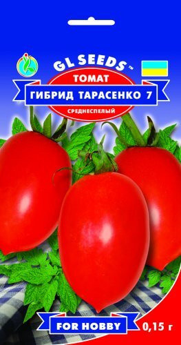 Семена Томата Гибрид-7 Тарасенко (0.15г), For Hobby, TM GL Seeds